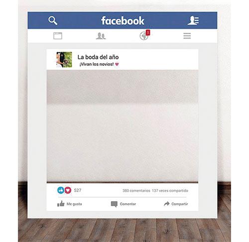 Photocall Facebook Boda