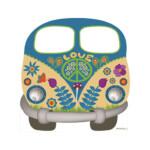 Photocall Furgoneta Hippie Love