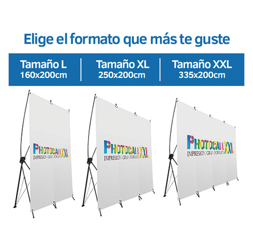 Photocall Personalizable varias medidas