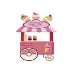 Photocall carrito helados