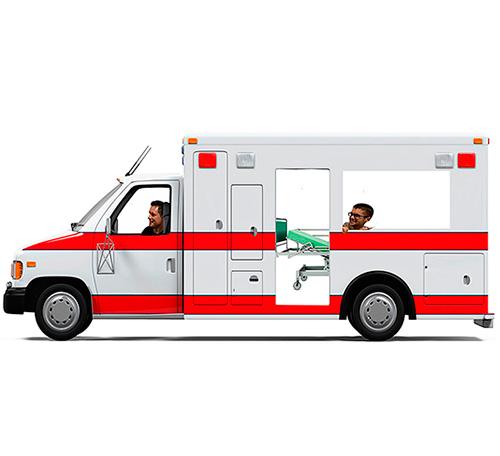 Photocall Ambulancia