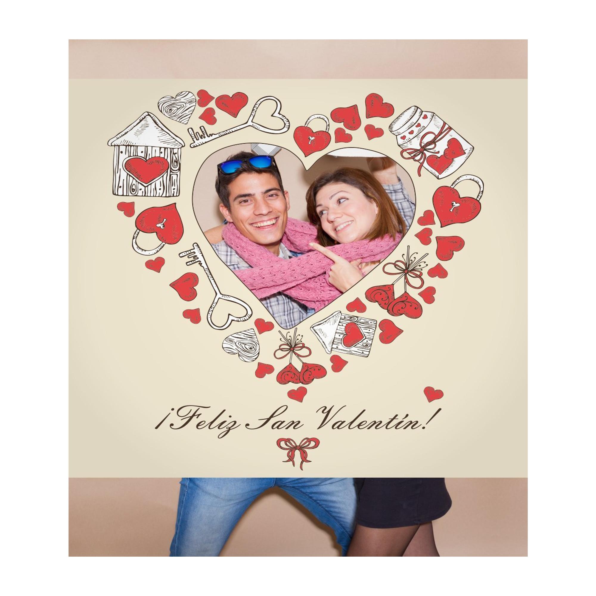 Photocall San Valentin 1x1m