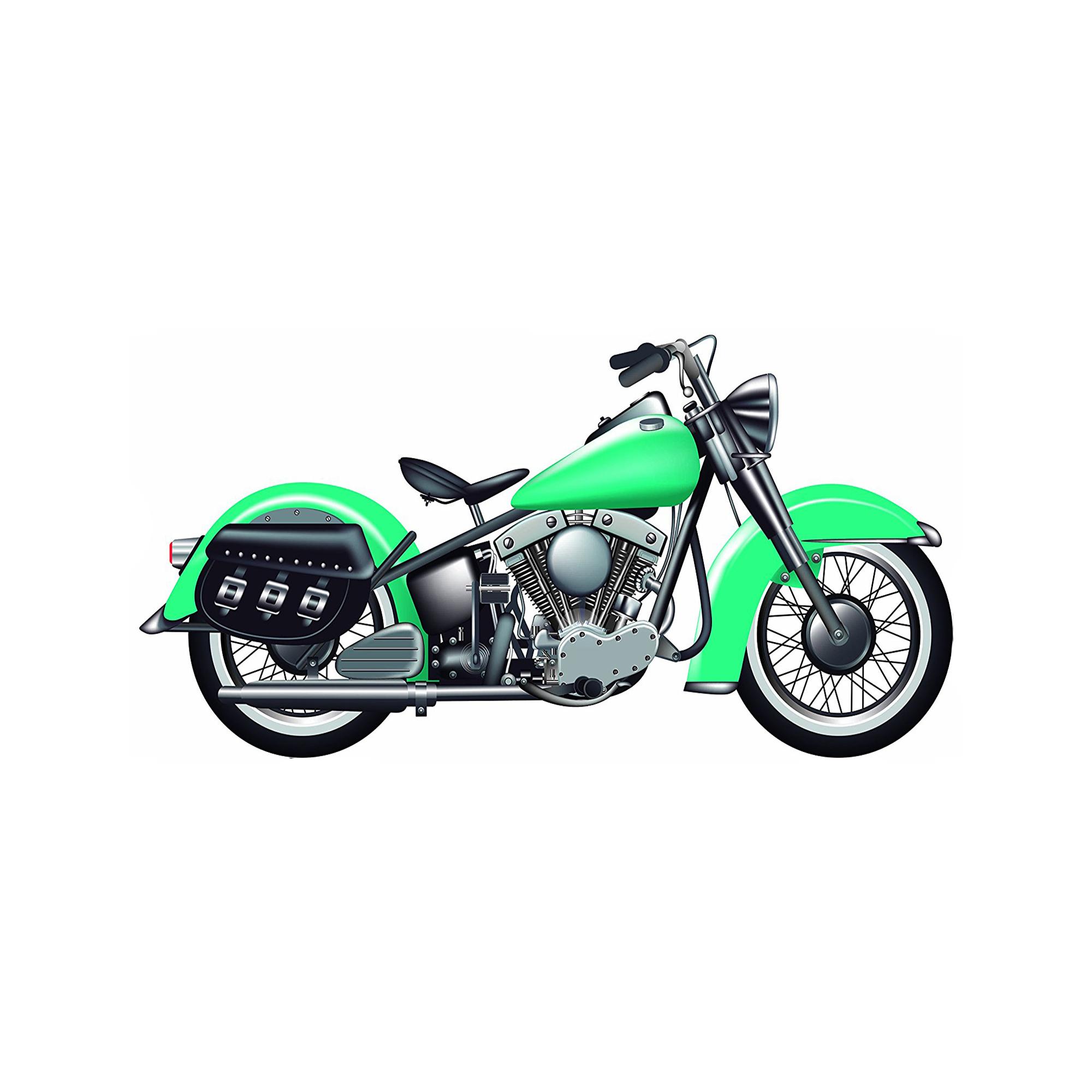 Photocall Moto Verde 2,30mx1,10m