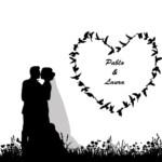 photocall-corazon-bodas