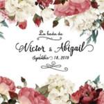 Photocall Flexible Flores Boda