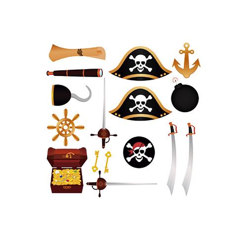 Atrezzo Piratas