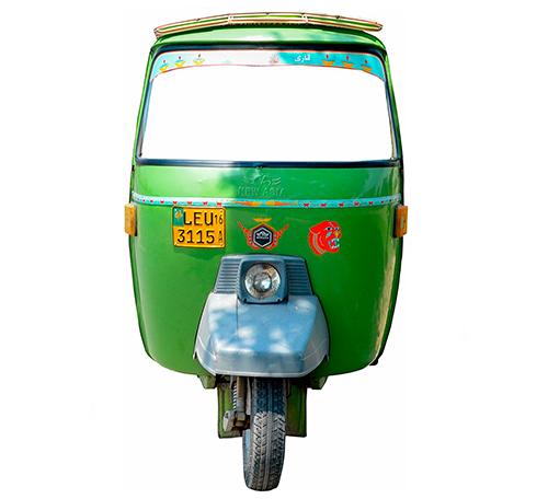 Photocall Carromoto Taxi Indio