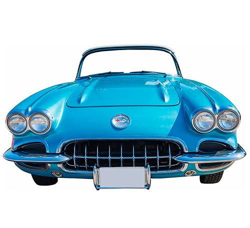 Photocall Chevrolet Corvette