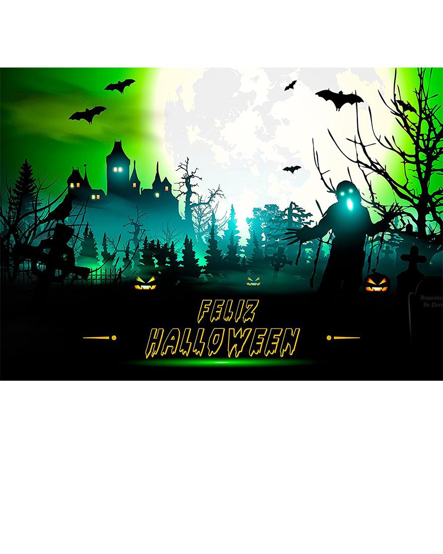 Photocall Halloween 2,40×1,90m