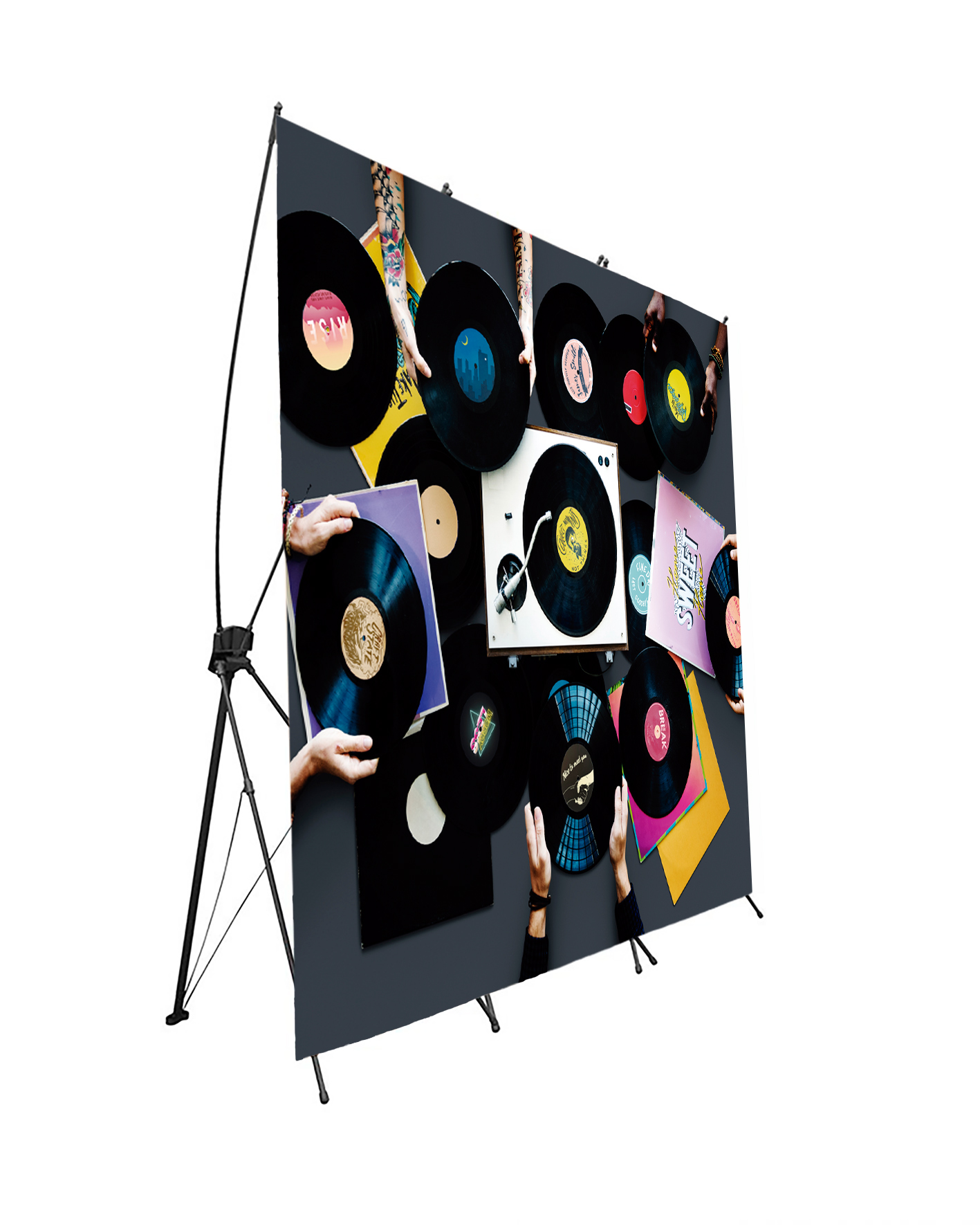 Photocall Flexible Discos de Vinilo