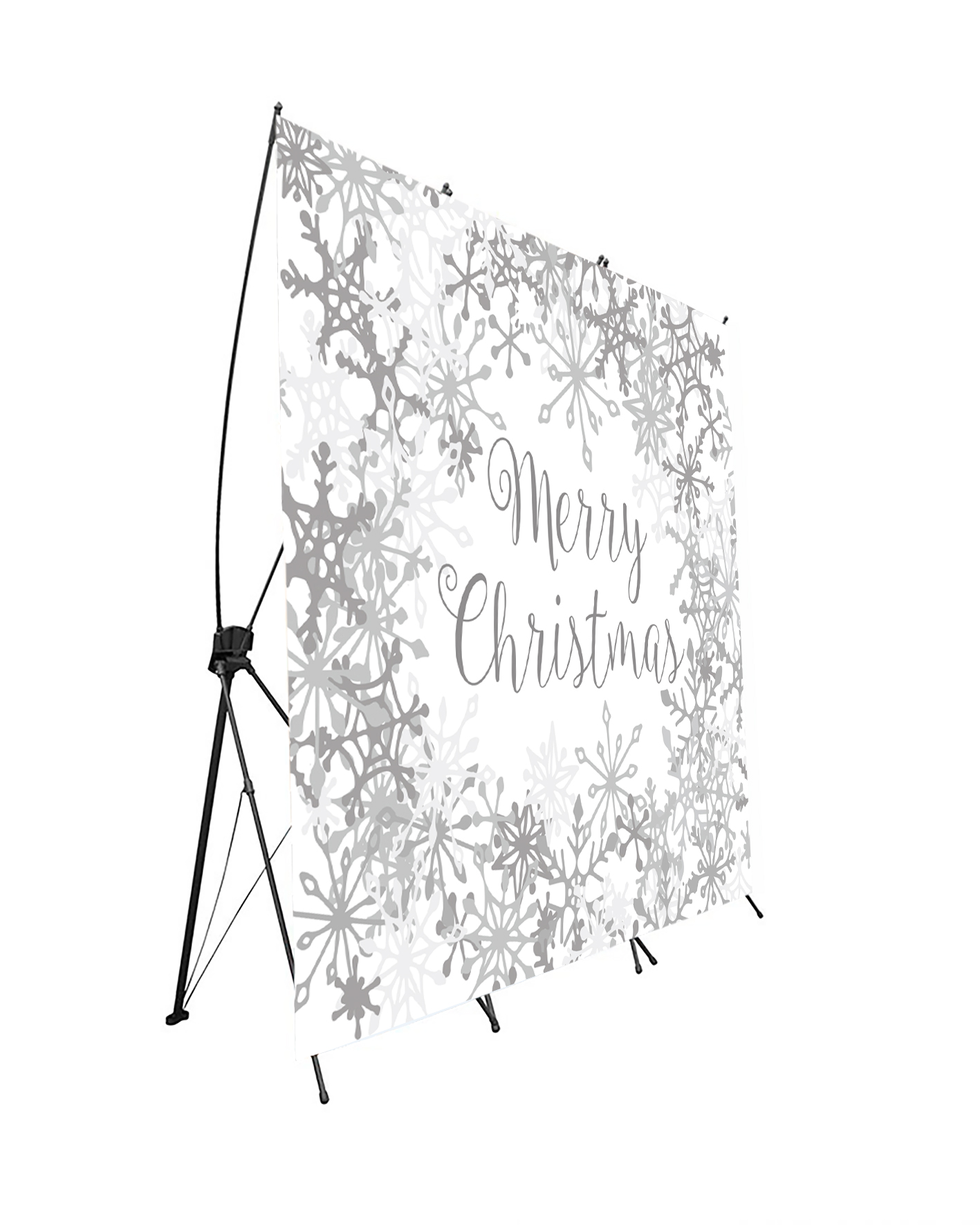 Photocall Flexible Merry Christmas Nieve