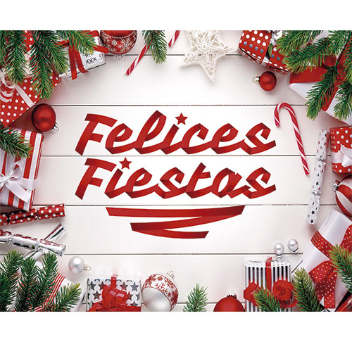 Photocall Flexible Felices Fiestas