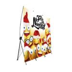 Photocall Flexible Feliz Navidad Emojis