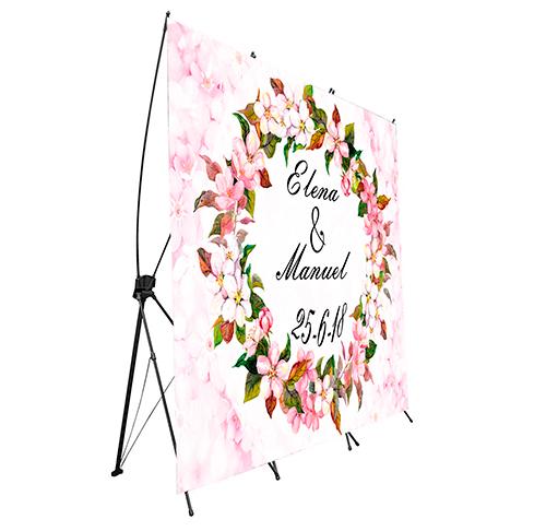 Photocall Flexible Boda Floral