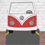 Montaje-V.Wagen-Vector-Rojo