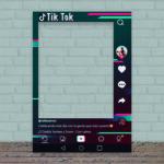 Photocall Personalizado Tik Tok modelo a