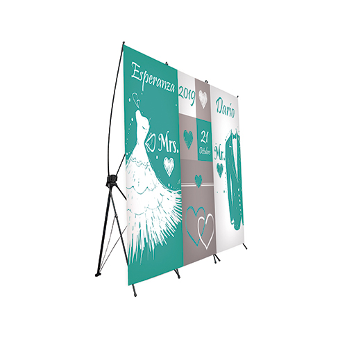Photocall Flexible Boda Mrs&Mr Verde