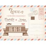 Photocall Flexible Boda Postal Love