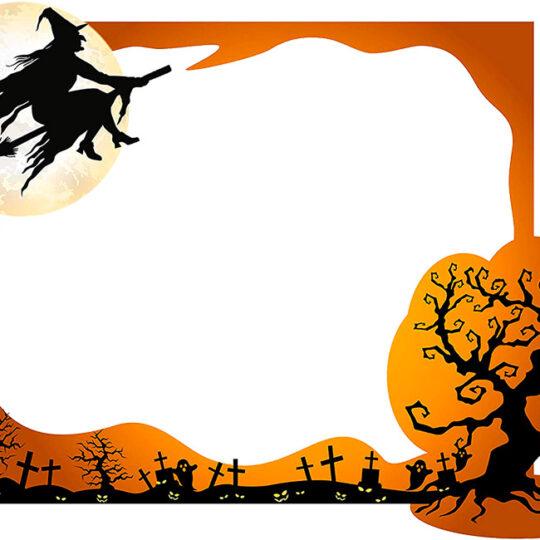 Photocall Bruja Halloween