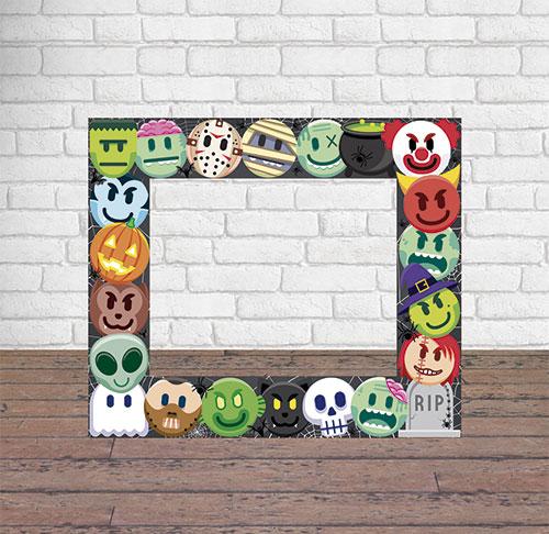 Photocall Halloween Personajes Terror