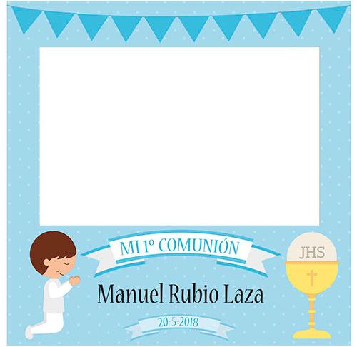 Photocall Personalizado Mi Primera Comunión