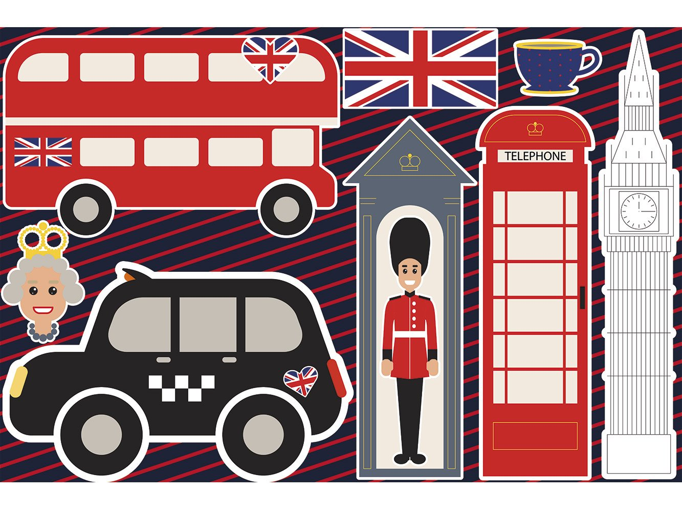 Atrezzo Photocalls London Cabina Teléfonos