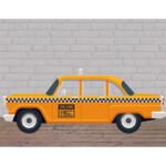 Photocall Coche Taxi Perfil