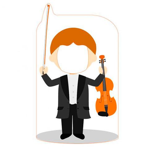 Photocall Violinista