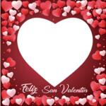 Photocall San Valentin Rojo
