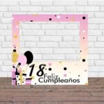 Photocall Feliz Cumpleaños 18 Niña