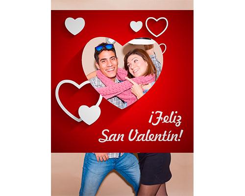 Photocall San Valentin Corazones