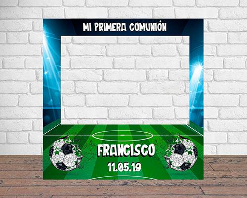 Photocall Personalizado para Comunión de Fútbol