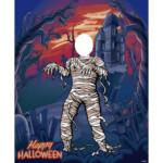 Photocall Momia Halloween diseño