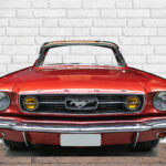 Photocall Ford Mustang Rojo