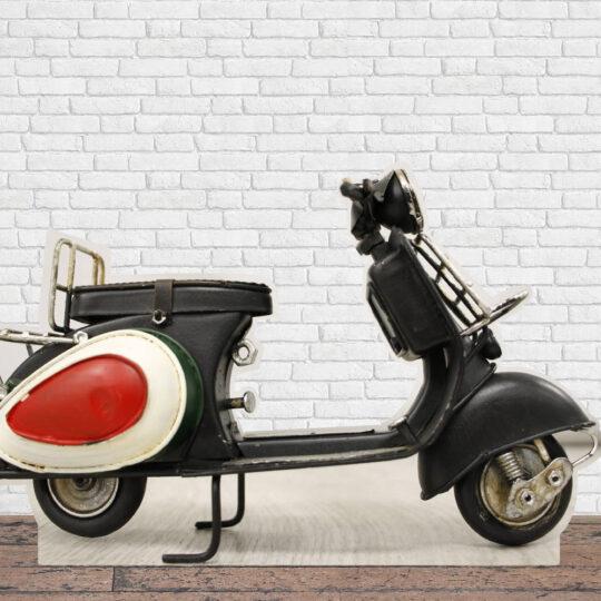 Photocall Moto Vespa Negra