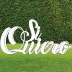 Letras de corcho para bodas