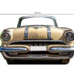 Photocall Coche Pontiac medidas