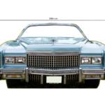 Photocall Coche Cadillac Azul medidas