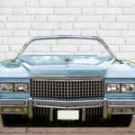 Photocall Coche Cadillac Azul
