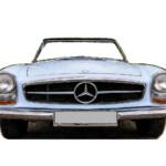 Photocall Mercedes Blanco diseño