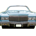 Photocall Coche Cadillac Azul diseño