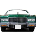 Photocall Coche Cadillac Verde diseño