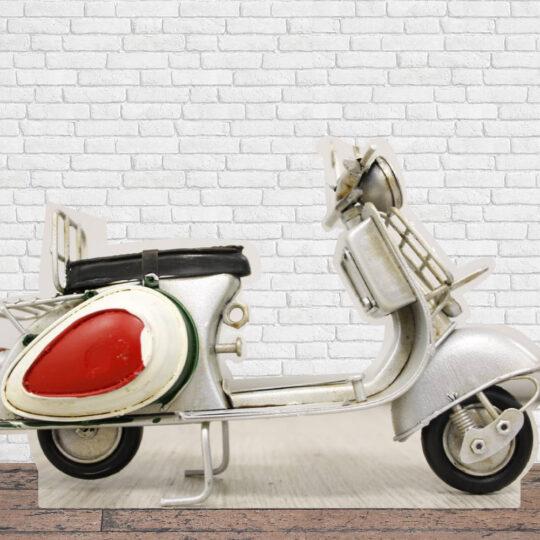 Photocall Moto Vespa Blanca