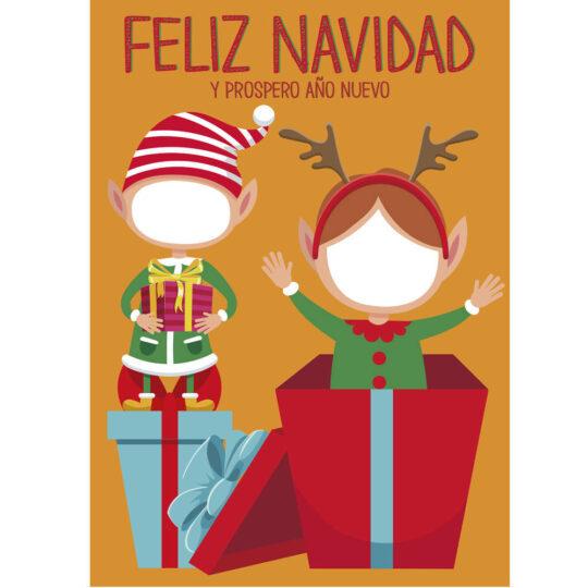 Photocall Navidad Feliz diseño