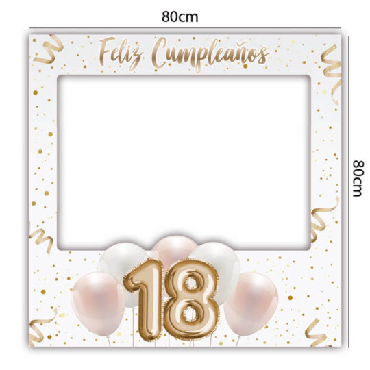 Photocall Cumpleaños 18