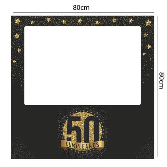 Photocall Cumpleaños 50 estrellas